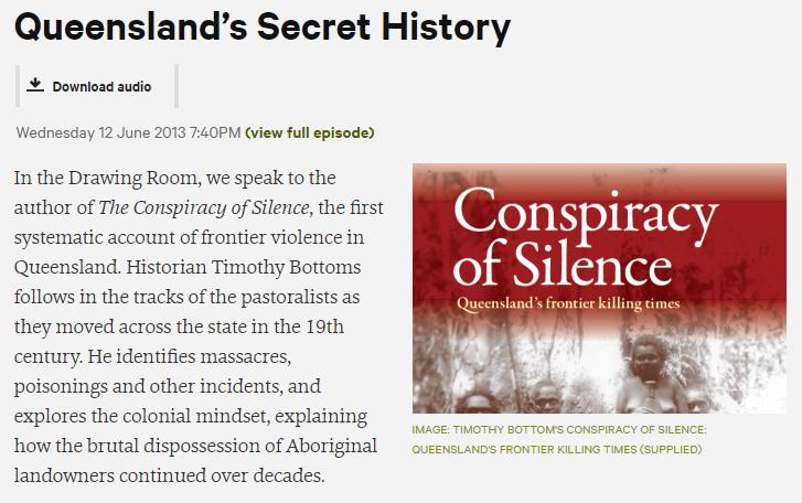 Queenslands Secret History