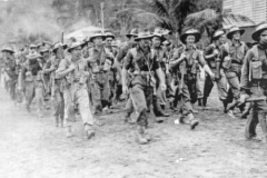 Aussie troops in the Cairns region during WWII